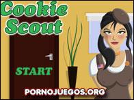 Vendedora de galletas